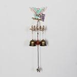 엔틱메탈 큐빅 부엉이 연인  2벨 문종 도어벨-금도금