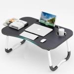 접이식 서랍형 베드트레이 1인 다용도 노트북 테이블