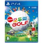 PS4 New 모두의 골프