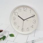 토리우드무소음벽시계(3COLOR)