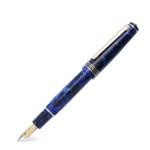 라반 로사 만년필 금장 블루 마블