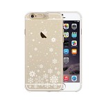 iPhone 6  Ciear shield Gold (snow)
