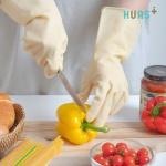 맥시브 휴어스 식품용 고무장갑 소,중 10매묶음