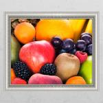 cr596-맛있는과일가득_창문그림액자