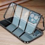 아이폰12 pro max 미니/메탈 자석 풀커버 투명 케이스
