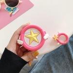 에어팟프로 3세대 천사별 실리콘케이스_핫핑크152/PRO