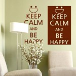 cm047-Keep calm and be happy(대형)