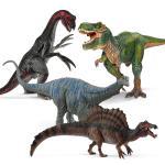 [슐라이히]공룡세트 4P_E