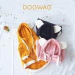 도그웨그 베어 기모 후드집업 강아지 겨울 옷