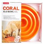 카이젠 슬로우볼 급식기 (중대형견용/오렌지), 고창증 예방, 강아지 기능성 식기