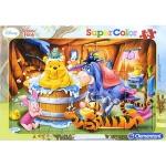 15조각 판퍼즐▶ 디즈니 - 곰돌이 푸우의 목욕 시간