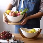 세라믹 과일 소품 쟁반 디저트 트레이