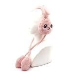 토끼 귀마개 인디핑크