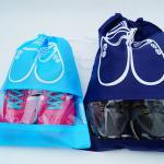 다용도 여행 방수 신발 파우치 주머니 보조 가방 (중)