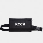 키크 지갑 벨트 백 - 블랙