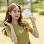 KC안전인증 시원한6엽 저소음 국민가격 휴대용 선풍기