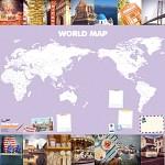 나의 World map [세계지도]