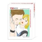 주문 제작▶ 150조각 팝아트 2인 포토 퍼즐 [캐리커쳐]