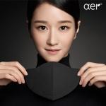 [아에르] 어드밴스드 KF94 마스크 블랙 10매