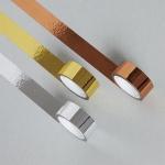 3가지 금속 컬러 마스킹 테이프 (골드,로즈골드,실버)