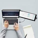 듀스 DUEX : 노트북 듀얼 모니터 101-1002P01