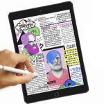 종이표현 스케치 필름(뉴아이패드 9.7)