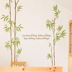 유향 (완제품B타입) 그래픽스티커 대나무 포인트 시트지