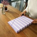월화수목 바로펀치3공바인더 - 목요일엔 Blueberry stripe