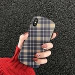 아이폰11 pro max xr xs 7 8 + 심플 체크 젤리케이스