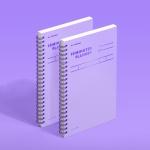 [모트모트] 텐미닛 플래너 100DAYS - 바이올렛 (2EA)