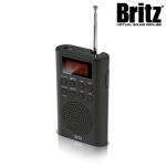 브리츠 휴대용 라디오 알람 시계 BZ-R3740 (FM,AM지원 / LCD 디스플레이)