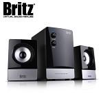 [브리츠] 스피커 BR-1200 (2.1채널 / 볼륨 & 베이스조절 버튼 / MDF재질 / 고성능 우퍼유닛 / 위성스피커 / 공기순환 시스템)