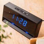 넥서스 C0200N-B 앰버LED 무드등알람 디지털탁상시계