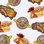 토이스토리 시리즈 트래블스티커 세트22
