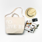 [TOOLS TO LIVEBY]TOTE BAG BEIGE (캔버스가방) L
