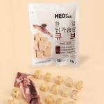 [허닭] 닭가슴살 한입 큐브 오징어 100g