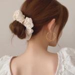 펀칭 레이스 곱창 머리끈