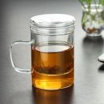 [로하티]루나 내열유리 티머그 400ml / 유리머그컵