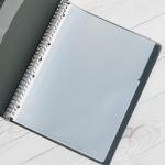 A4 30공바인더/3공바인더 비닐 속지 100매(10장x10팩) HB442-3s
