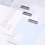 DELI 커버 클립보드 A4파일 레포트화일 72500