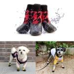 강아지 방수 양말 겸 신발 3color 애견 소형견 산책용
