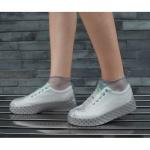 실리콘 방수 신발커버(180~220mm) (그레이)