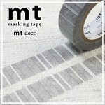 폭15mm-일본 mt 디자인 마스킹테이프 Deco series-나뭇잎 검정 hd203-d226