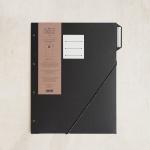 [라 페티트 페퍼티트 프랑세스]La Petite Paperterie Francaise 파리지앵 폴더 탭#1 블랙 / 인덱스파일