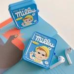 에어팟 귀여운 소년페코 실리콘케이스 1/2_AP574 블루