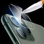 아이폰 11 pro max 카메라 렌즈 보호 강화유리 필름