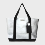 Silver travel Tote bag