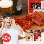 [허닭] 닭가슴살 육포 40g 2종 40팩