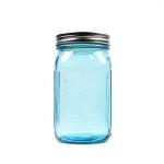 볼메이슨자 와이드마우스 블루 943ml 32oz Blue jar