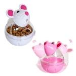 강아지 장난감 덴탈 고양이 마우스 스낵볼 색랜덤